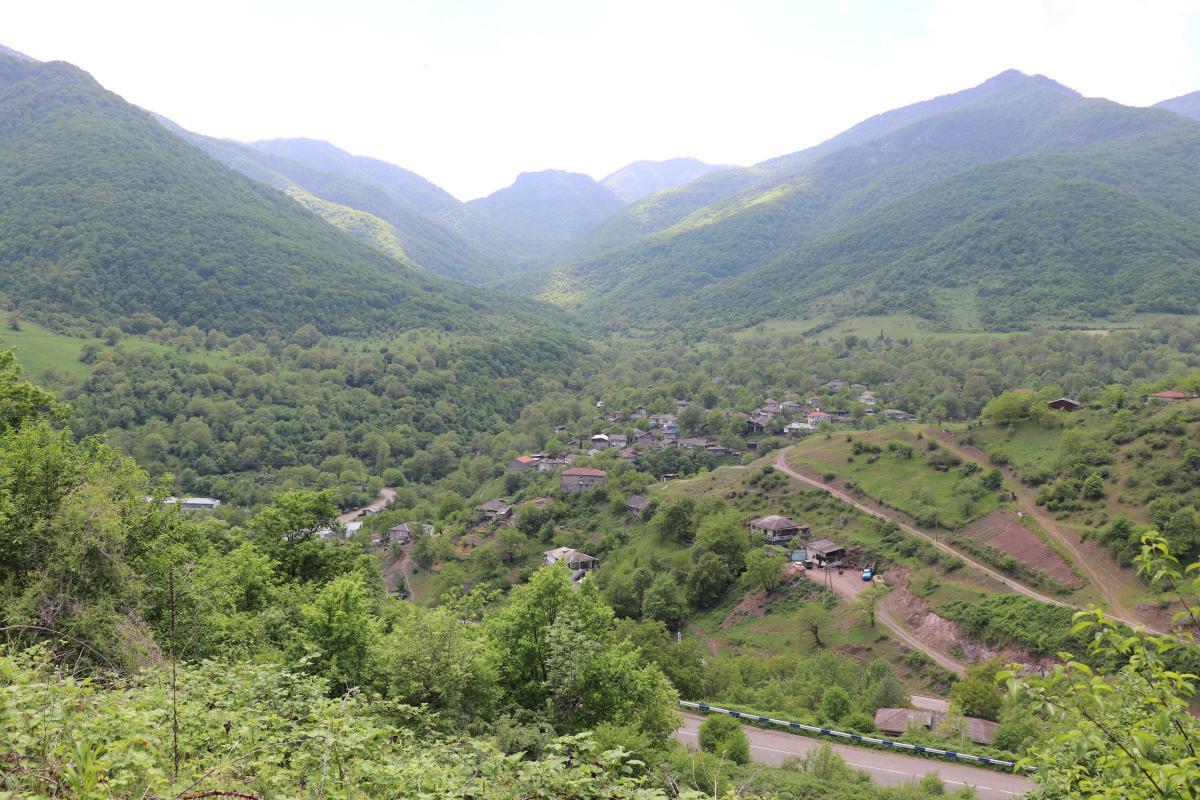 Տեսարան Շիկահող գյուղից